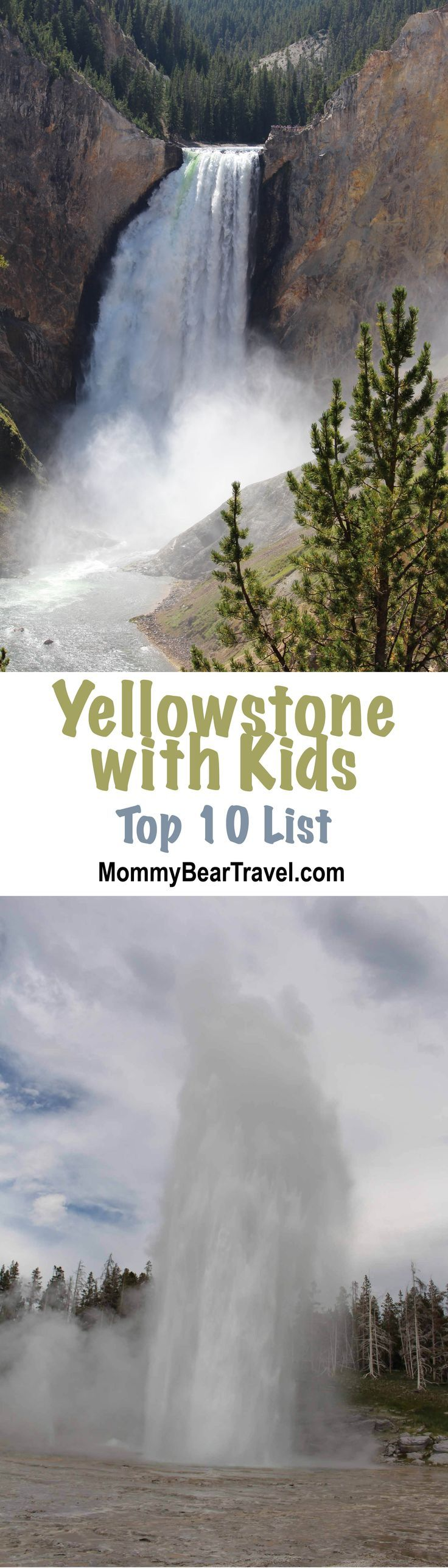 I pinned this so when we take our kids to Yellowstone some day, we can remember all these good places.