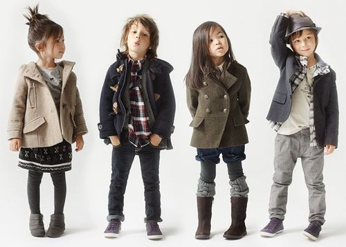 I love well dressed kids. They WOULD be Asian