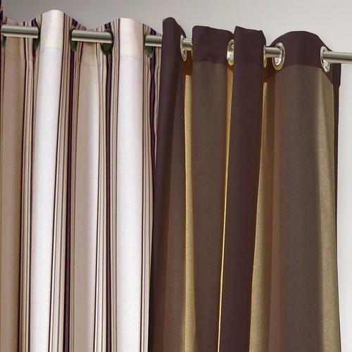 One of my favorite discoveries at WorldMarket.com: Khaki Striped Gazebo Curtain