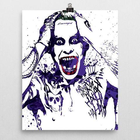 Suicide Squad Joker Jared Leto Poster - PixArtsy - 2
