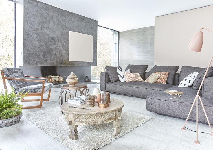 Kensington loft white laminate flooring