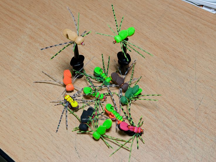 Bluegill Candy Hopper fly pattern adopted from the Hopper Juan pattern. These are a great Panfish fly in all colors. I tie them in Greens, Tan, Brown, Orange and the Black and Raspberry shown in the video. All colors work great, some more than ...