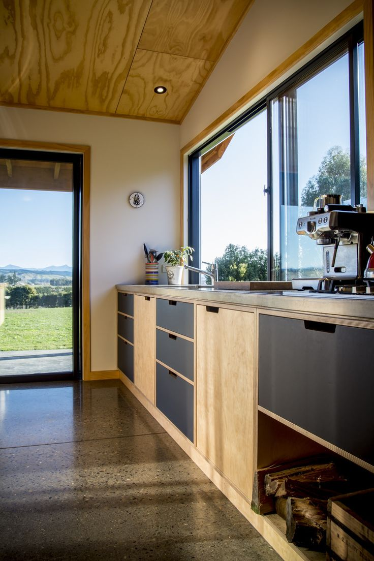 Birch plywood cabinets - Hope Rd - makefurniture.co.nz
