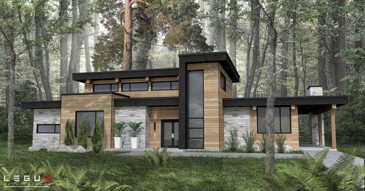 Legue Architektur Contemporary House Design House Exterior Modern House Exterior