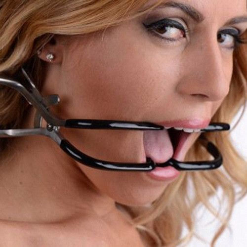 Rubber Coated Stainless Steel Jennings Gag – Sexy Vibes