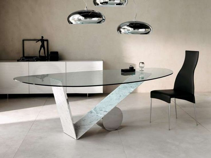 Tavoli ovali - Tavolo con struttura originale | Tavoli da ...