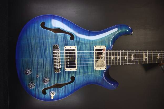 Incoming to Guitar Maverick! #prsguitars HB2 non 10 in Faded Blue Burst.  Maps at $3999.00. We will be taking this one to the Philly Fall Guitar Show Nov 8th and 9th!  Come Check it out and visit our website www.guitarmaverick.com