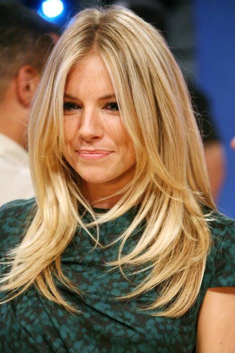 blonde. length.