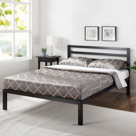 Home In 2020 Headboards For Beds Platform Bed Metal Platform Bed
