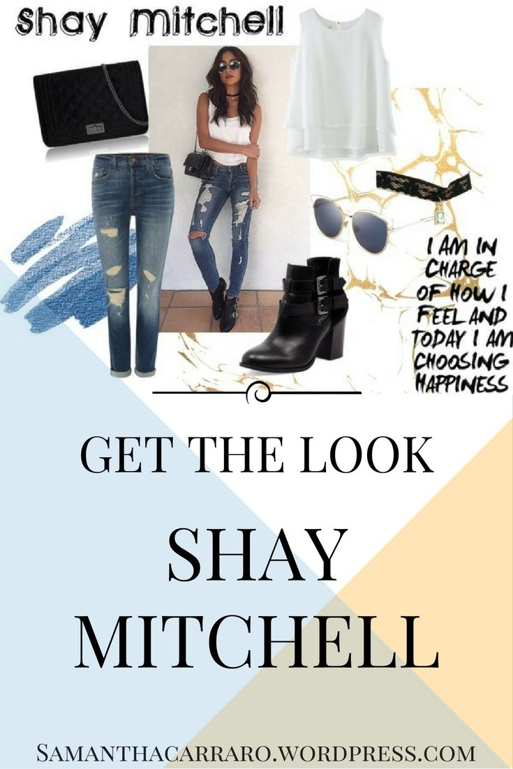 Get the look of Shay Mitchell on https://samanthacarraro.wordpress.com/2016/04/11/get-the-look-shay-mitchell/  #Fashion #outfit #look #GetTheLookForLess #Guide #PrettyLittleLiars #Beauty #Accessories #Shopping