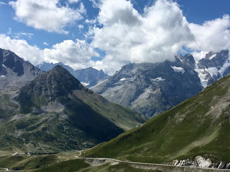 Driving back to UK from Italy. This is along the 'Route des Grandes Alpes' in France. [40323024]