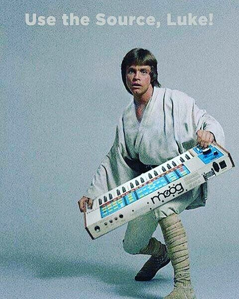 Lol #starwars #moog by mubot