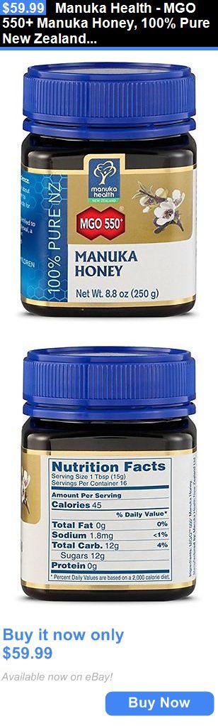 Other Vitamins and Supplements: Manuka Health - Mgo 550+ Manuka Honey, 100% Pure New Zealand Honey, 8.8 Oz New BUY IT NOW ONLY: $59.99