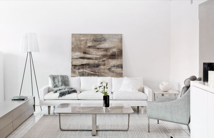 Oiva sofa with Onni chair. Design by Kirsi Valanti.