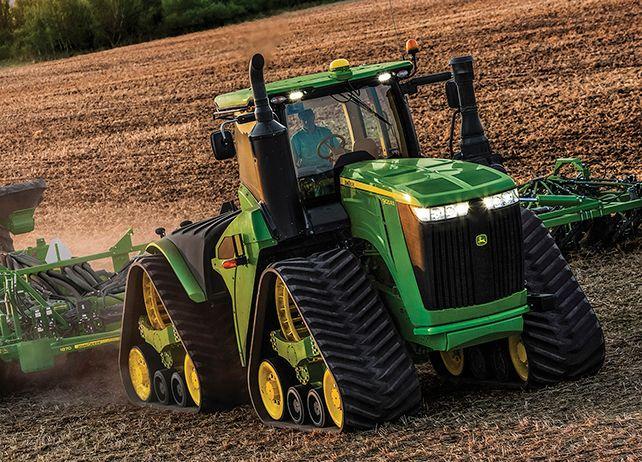 Studio image of 9620RX tractor