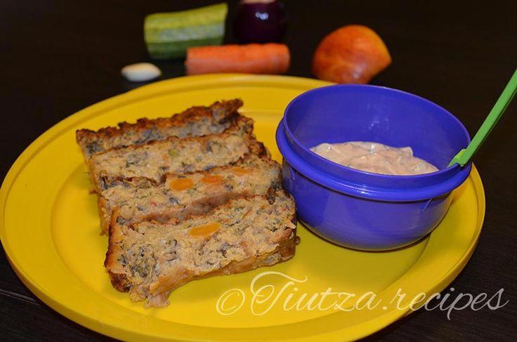 Vegetables drob https://tiutza.recipes/aperitive/drob-cu-legume/