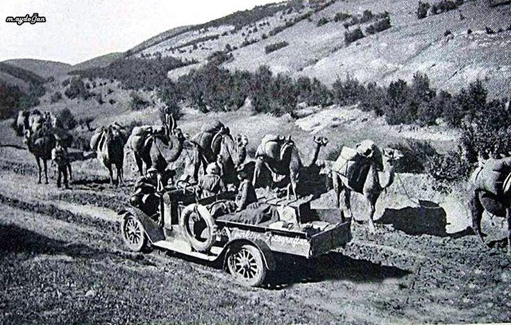 Samsun Merzifon arası Kervan 1920 li yıllar