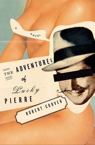 The Adventures of Pierre Lucky // Book cover design by