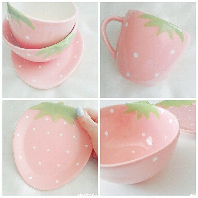 gasaii: Strawberry set from zakkamart.com discount code: strawberry review on my blog