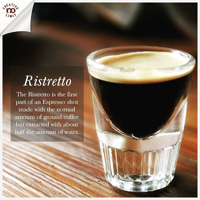 The Ristretto shot is a coffee purists heaven, a truly enjoyable pour of coffee. Many baristas consider the Ristretto to be the most difficult drink to get right. But what is a ristretto and how are these highly debated shots made? . . #creativenolimit10