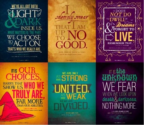 I've read all these quotes...but never quite realized how deep they were