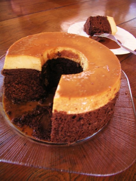 Choco Flan Cake Recipe Food Network