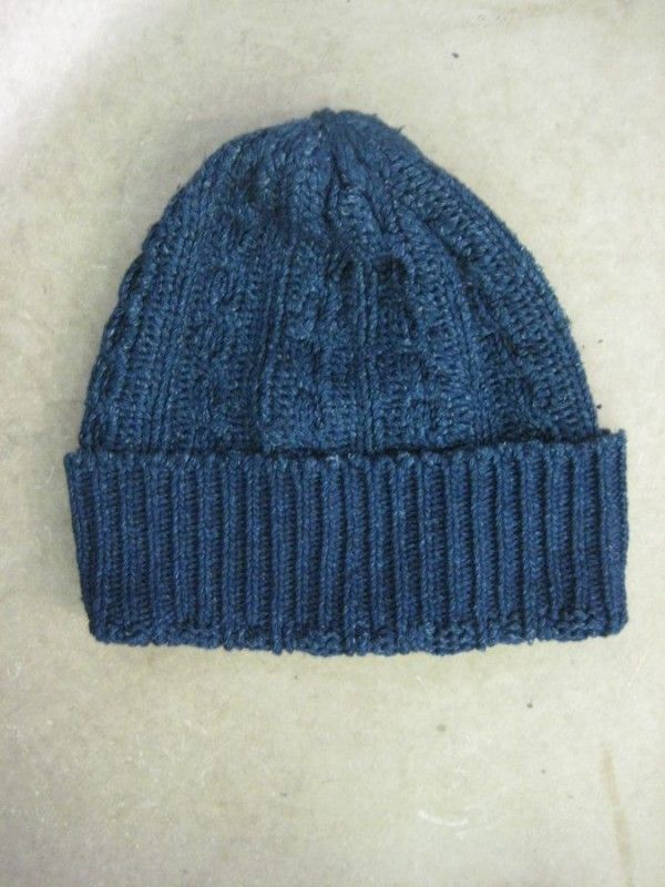 Pure Blue Japan Indigo Knit Cap - DC4 Shop