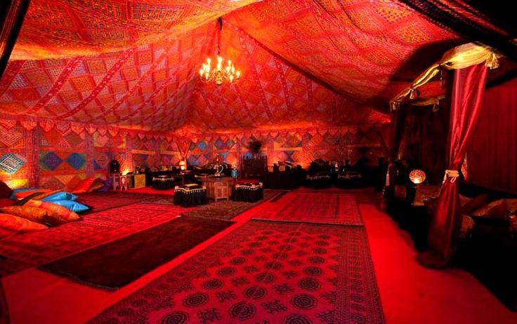 35 best images about unique creative wedding venue ideas for Arabian tent decoration