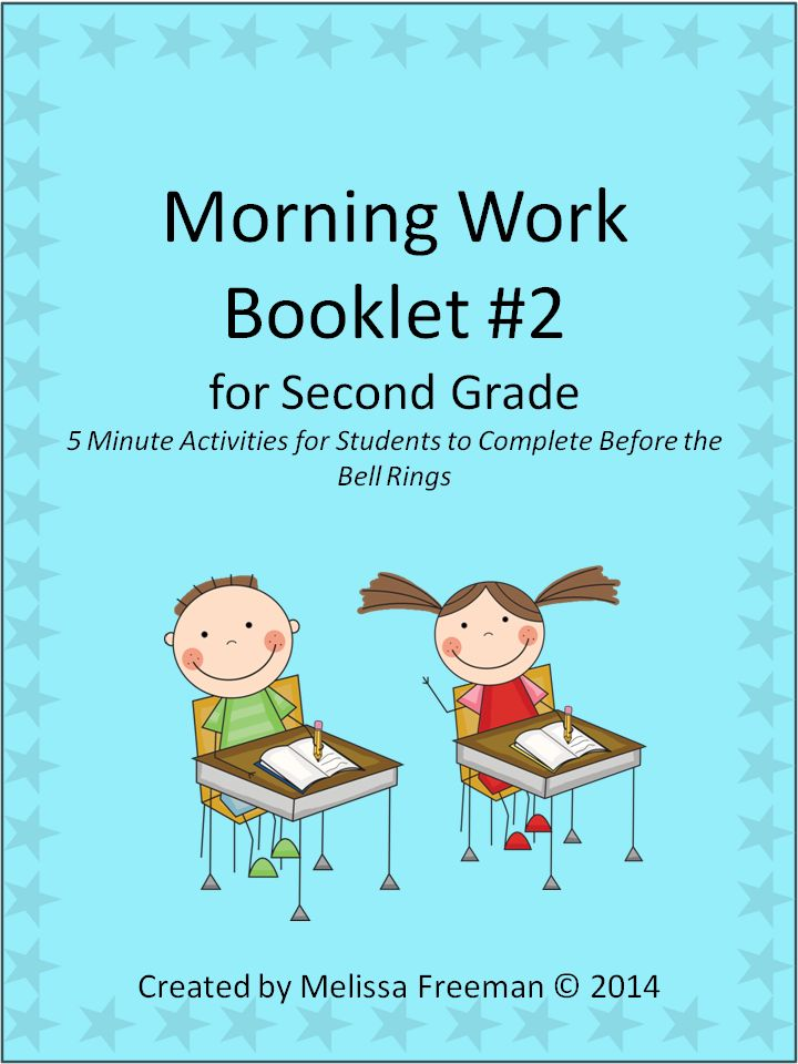 This second Morning Work (or Bell Work) Booklet contains 4 weeks worth of short daily activities that students can work on while waiting for the morning bell!