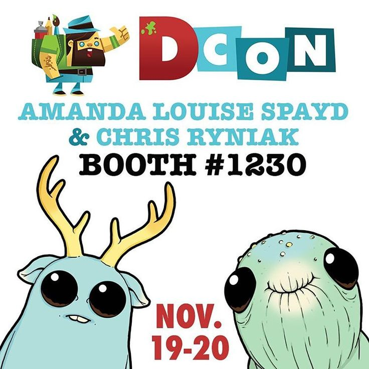 Hey!  @amandalouisespayd and I will be at Designer Con again this year at the Pasadena Convention Center Nov 19-20!  Come on by our booth for LOTS of new stuff! Toys, figures, pins, stickers, original art and more!! Tickets are available at designercon.com  Hope to see you there!! 🎉 #designercon2016  #dcon #dcon2016