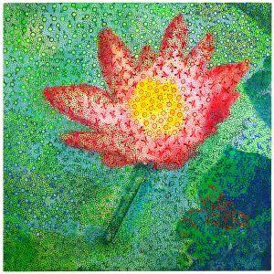 Water Lily www.printism.com.au #realartinprint