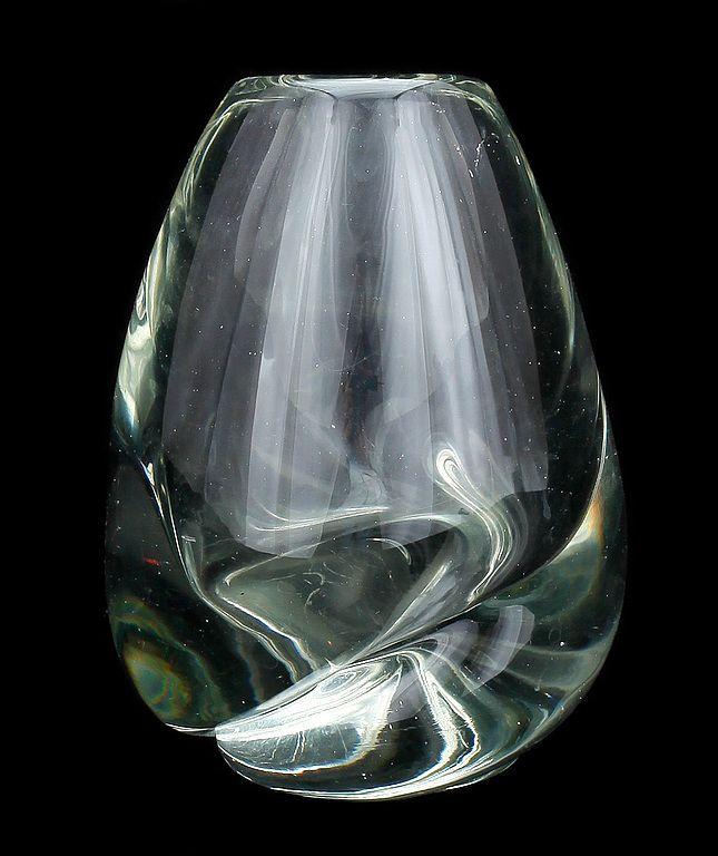 """Chiffon"" - Glass vase designed by Gunnel Nyman (1909-1948) for Nuutajärvi Glassworks, Nuutajärvi, Notsjö (Finland) - 1949-1951"