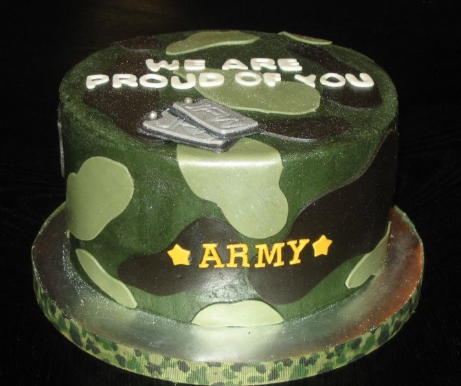 Cake Designs For Military : 17 Best images about Military cakes! on Pinterest ...