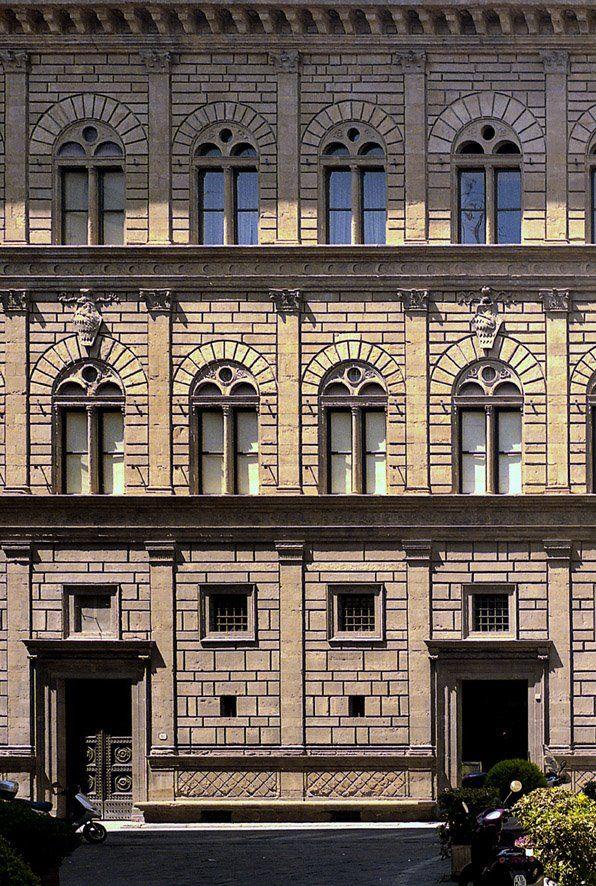 #arquitectura #leon batista alberti #renacimiento #florencia #palazzo rucellai