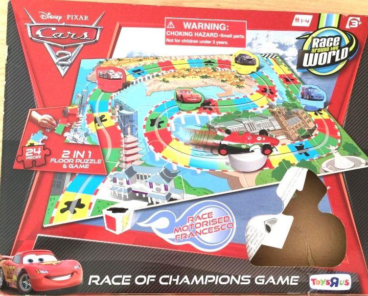 Cool Item Cars Race Around The World Game Puzzle Walt Disney