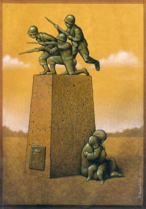 Thought-Provoking Satirical Illustrations by Pawel Kuczynski - My Modern Metropolis