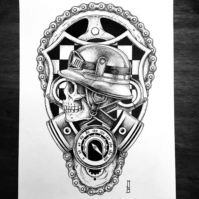 New tattoo project. Available...... #chopper #racing #motorcycle #riders #marcinbrzezinski #stronghold #strongholdtattoo #art #tattooartist #tattooflash #edinburgh #iblackwork #customtattoo #tattoodesign #drawing #dotwork #newtattoo #tattoos #blackwork_publicity #ink #bw #blacktattoo #skull #bones #ink #blackink #iblackwork #blacktattooart #dark #darkart