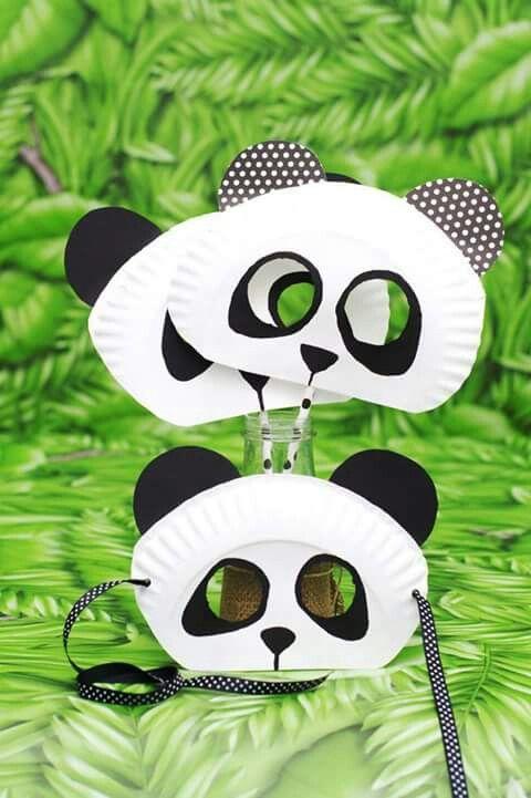 Maschera panda