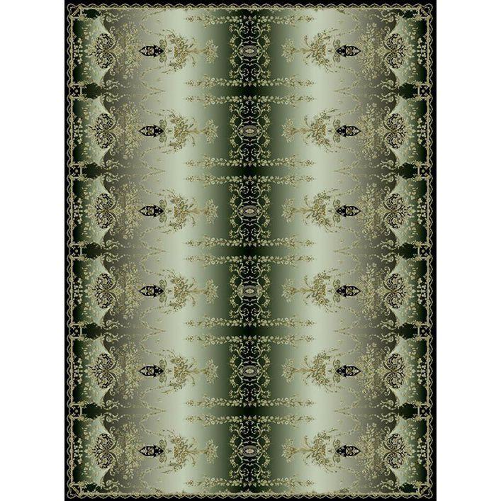 Ковер изумрудно-черных оттенков 'Отражение Империи' Livadia #carpet #rug #interior #designer #ковер #дизайн