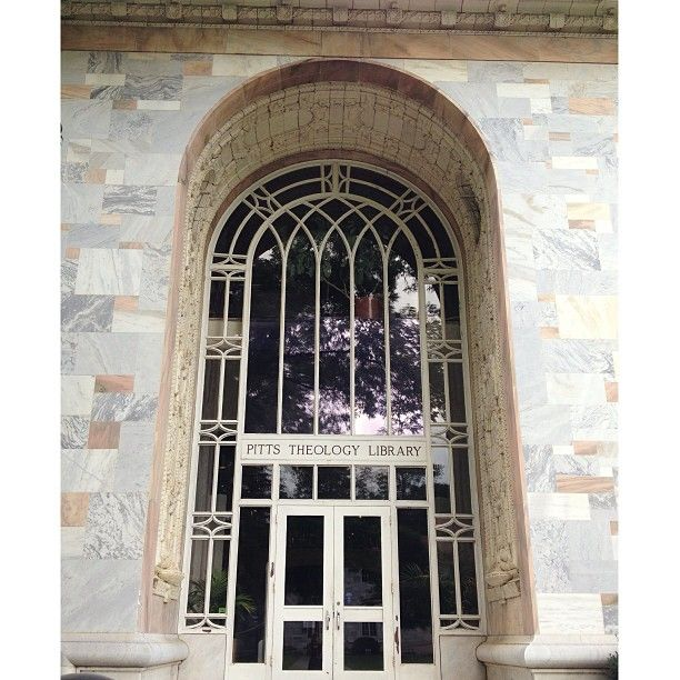 Pitts Theological Library is a rich resource for the Candler School of Theology and Emory University and has attracted international attention for some of its collections. #pitts #emory #library