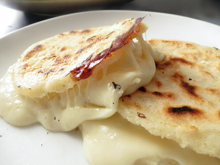 Cheese Stuffed Colombian Arepas! www.oliviascuisine.com