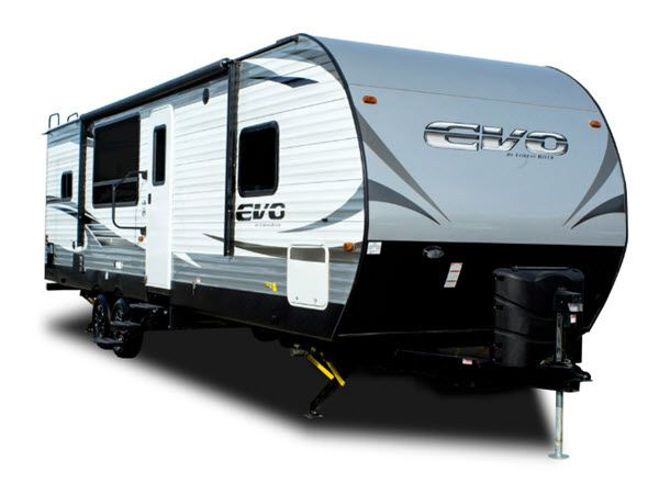 Forest River Evo Travel Trailer T2050 Highlights Dual Opposing