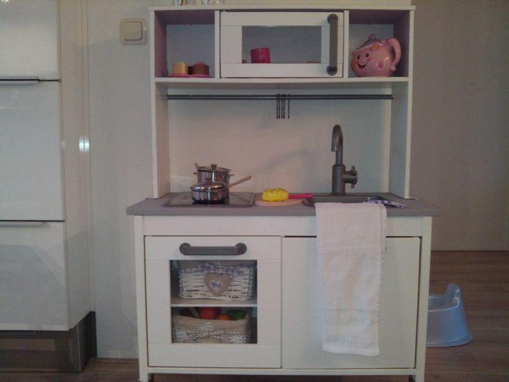 Ikea keukentje duktig, krijtverf van painting the past