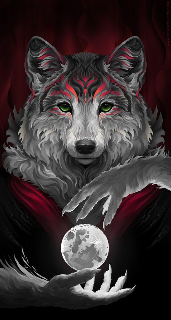 Wily Werewolf by SylviaRitter.deviantart.com on @DeviantArt
