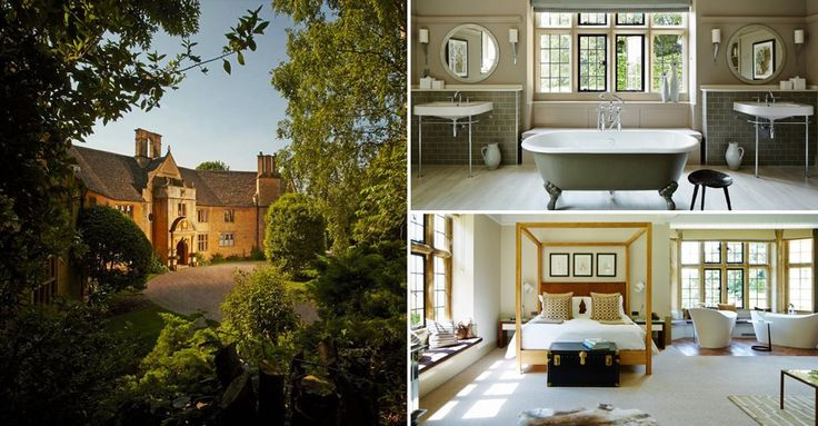 Under two hours away from London, the Cotswold countryside is awash with swanky hotels, posh pubs and swish spas.Foxhill Manor, Broadway, Worcestershire