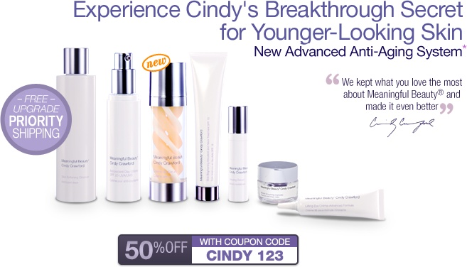Meaningful Beauty Cindy Crawford's Skin Care - would like to try this product