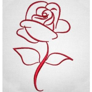 The Rose   Machine Embroidery Designs