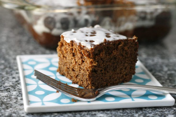 ICED GINGERBREAD CAKE This tender, fragrant Iced Gingerbread Cake is a delight to enjoy with coffee or cocoa during the holidays and beyond. And, best of all, it's easy!