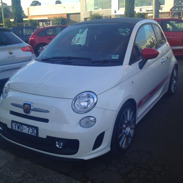 My new #Fiat #Abarth !