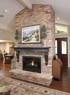 17 Best Double Sided Fireplaces Images On Pinterest